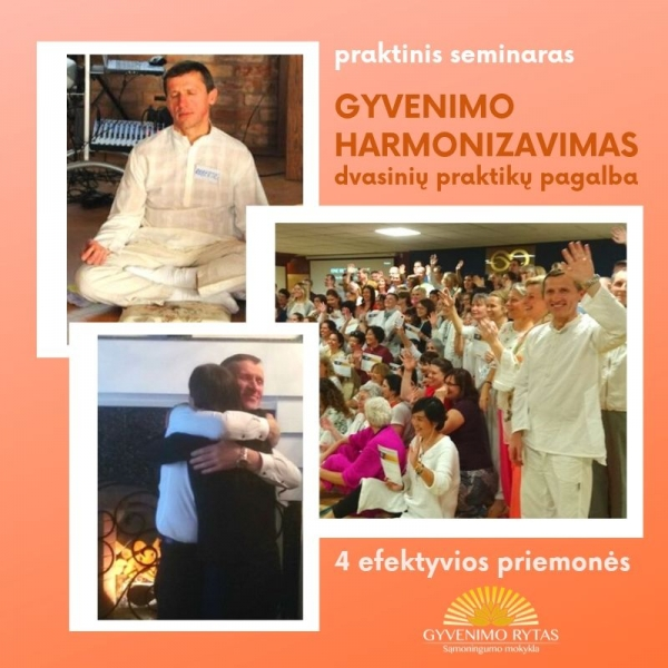 gyvenimo harmonija